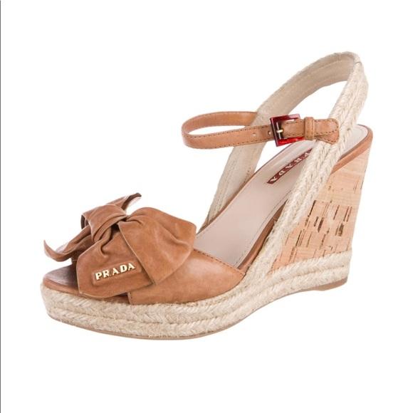 786d7468a47 Prada Napa Aviator Espadrille Wedge Sandals. M 5ad4d70ad39ca2d2fe890eaf.  Other Shoes you may like. PRADA PATENT LEATHER ...